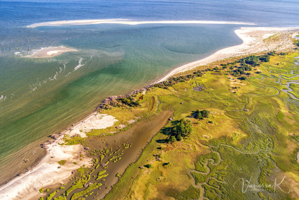 Bay Point Island, St. Helena Island, Beaufort, South Carolina, development, natural preserve, shorebird habitat, loggerhead turtle habitat, gullah-geechee,